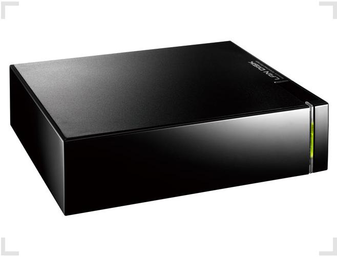 IOデータ超高速 LAN接続型ハードディスクHDL-Aシリーズ
