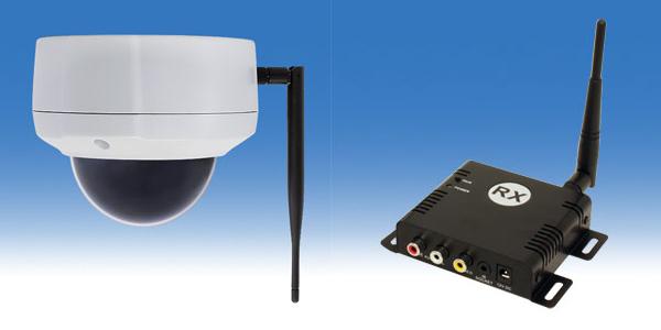 無線ドーム型カメラセットWTW-TRD24F2