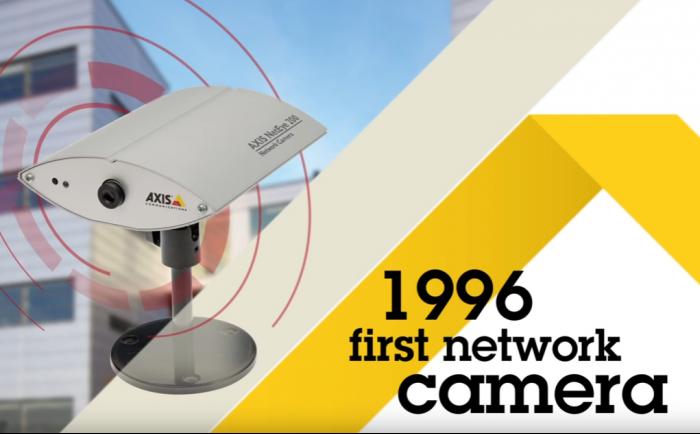 アクシスコミュニケーションズは1996年に世界で初めてネットワークカメラを製造した先駆的メーカーだ