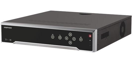 GJ-NV7716-I4/GJ-NV7732-I4 (16ch/32ch、4SATAタイプ、4Kカメラ対応、H.265/H.264/MPEG4対)