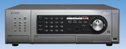 パナソニックの監視カメラ用レコーダー[WJ-HD716K]