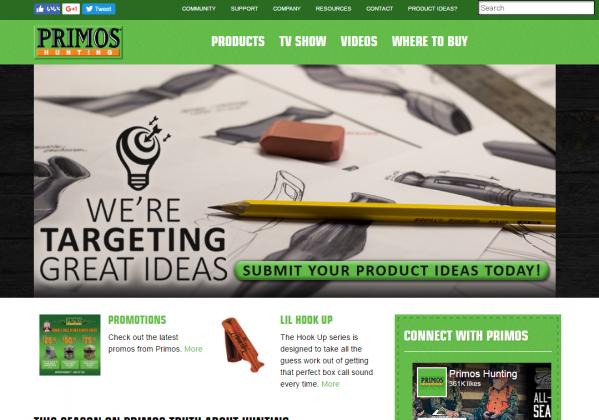 PRIMOS(プリモス)社の公式HP