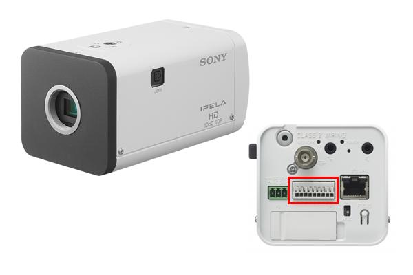 ソニーのネットワークカメラSNC-BV635の画像