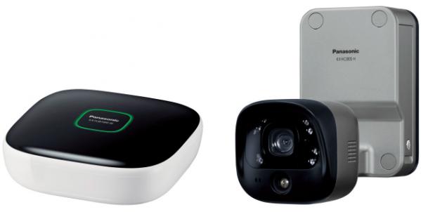 Panasonicのホームセキュリティ用・屋外用防犯カメラ