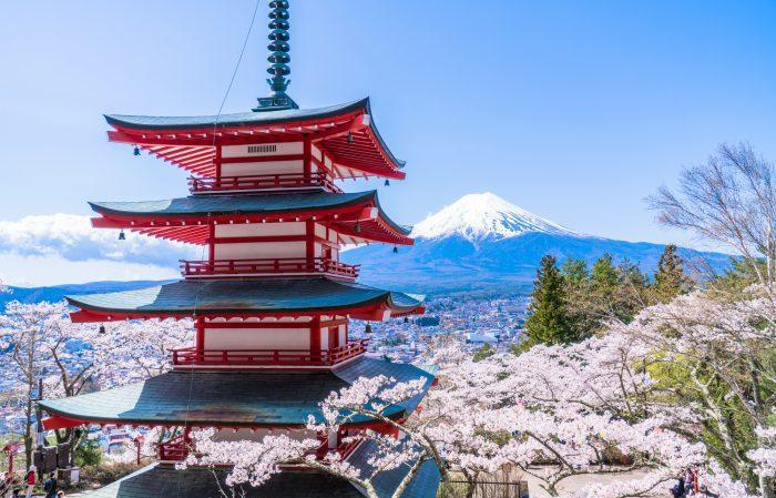 日本の代表的な景色「富士山」