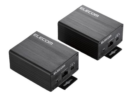ELECOM製のイーサネット・同軸ケーブル変換コンバーター[ECB-G01C]