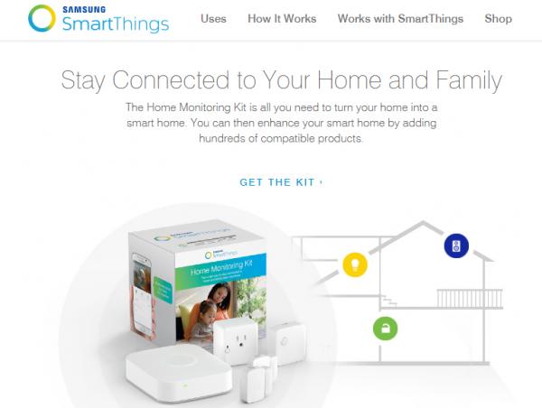 サムスンのスマートホーム/ホームオートメーションプラットフォーム「SmartThings」
