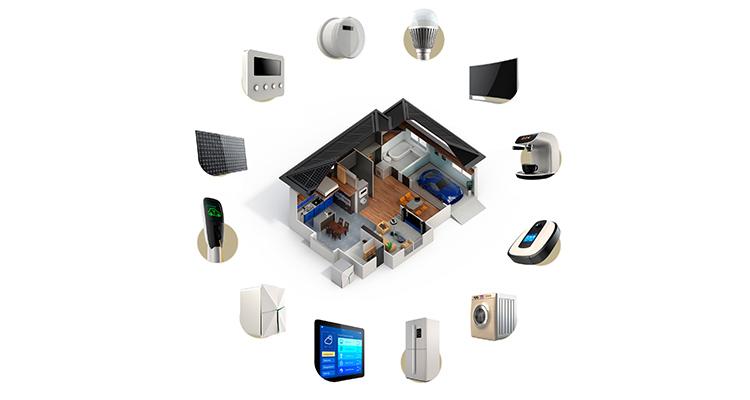 ホームセキュリティのイメージ図