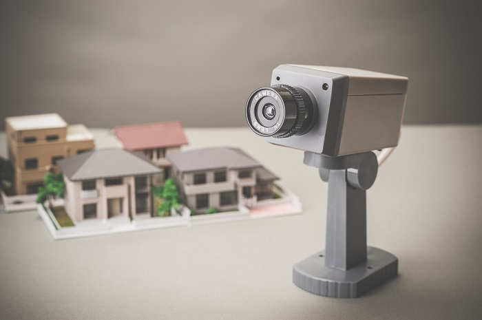 生活を守る監視カメラ
